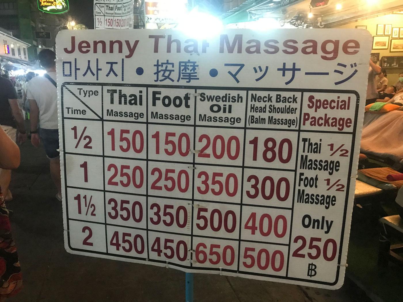 Thai massage jenny young jenny