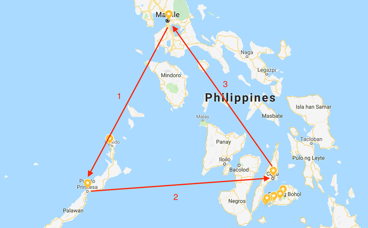 My tour in the Philippines